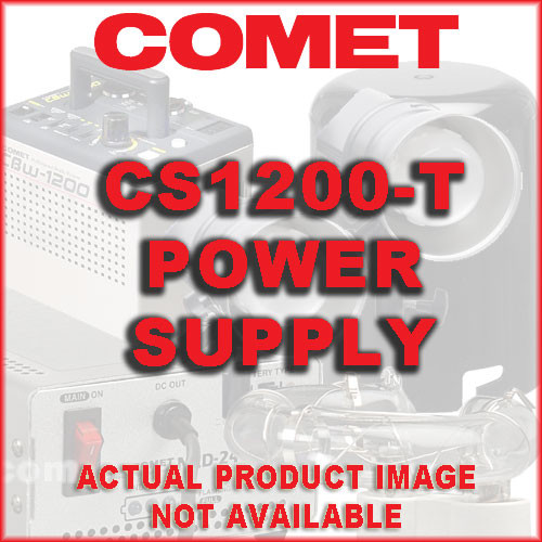 Comet 1200 Watt/Second 3 Channel Power Supply