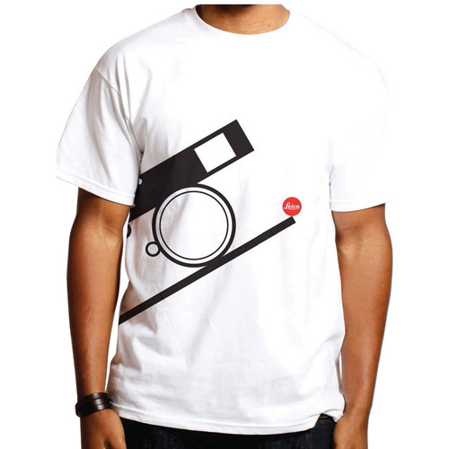 Leica Bauhaus T-Shirt (Large, Black on White)
