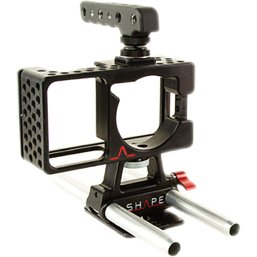 SHAPE Cage for Blackmagic Pocket Camera with Handle and Baseplate