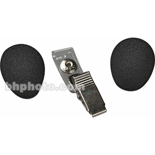 Shure RK318WS Headset Microphone Windscreen and Clothing Clip