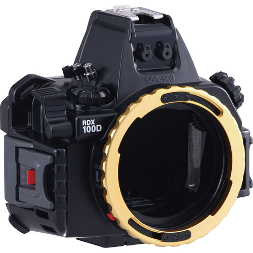 Sea & Sea RDX-100D Underwater Housing for Canon EOS Rebel SL1 DSLR Camera