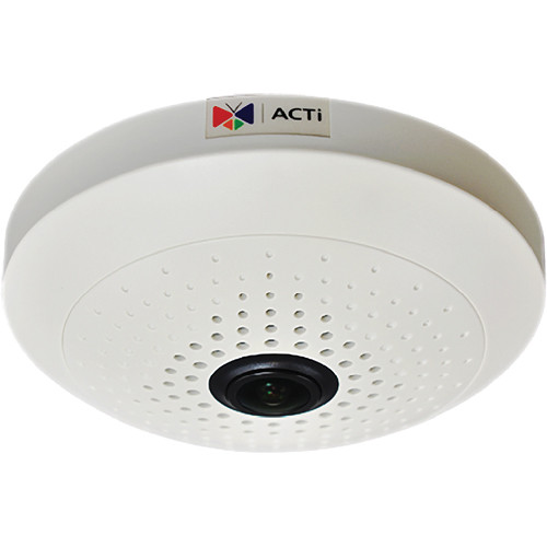 ACTi B56 3 Mp Superior WDR Day / Night Indoor PoE IP Dome Camera with Fixed Focus Fisheye Lens