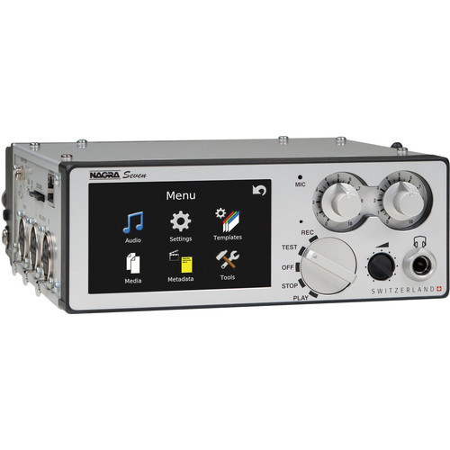 Nagra Seven 2-Channel Universal Digital Recorder with Time Code