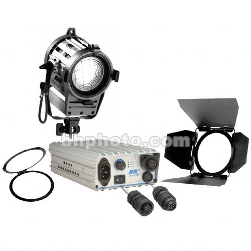 Arri Compact HMI 200W Fresnel Light Kit (90-250V)
