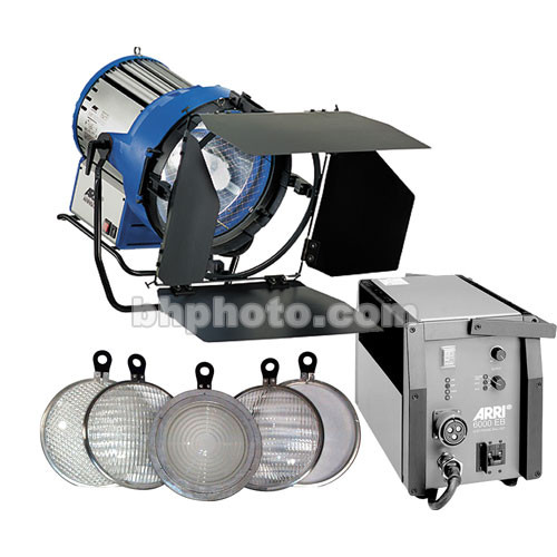 Arri Arrisun 60 HMI PAR Light Kit (190-250VAC)