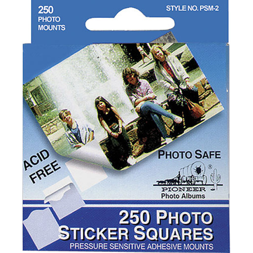 Pioneer Photo Albums Photo Mounting Squares (Box of 250)