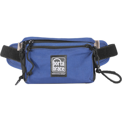 Porta Brace HIP-1 Hip Pack for Small Accessories (Small, Signature Blue)