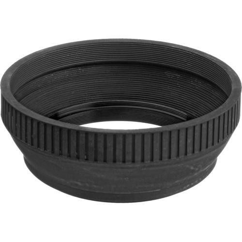 General Brand 46mm Collapsible Rubber Lens Hood