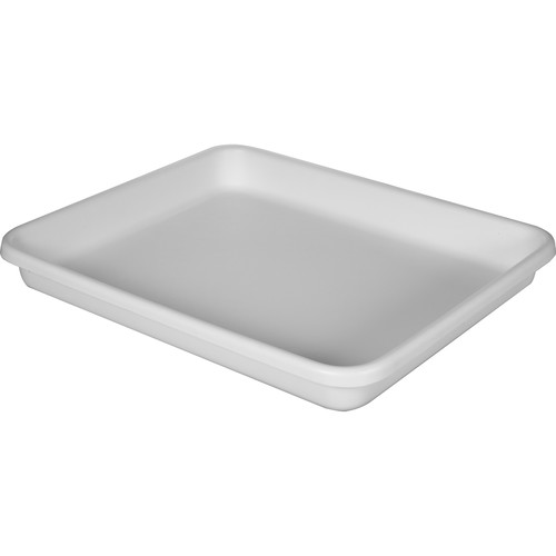 Cescolite Heavy-Weight Plastic Developing Tray (White) - 18x22