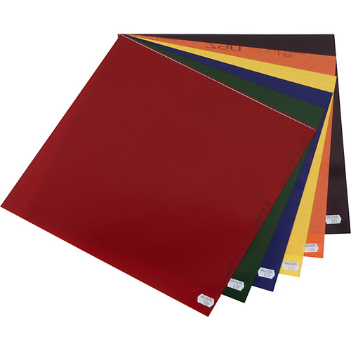 LEE Filters Color Effects Lighting Filter Pack - 12 Sheets (10 x 12