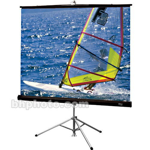 Draper Diplomat Portable Tripod Screen - 50 x 50
