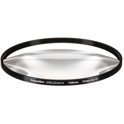 Schneider 138mm Water White +3 Split-Field  Diopter Lens (Close-up Filter)