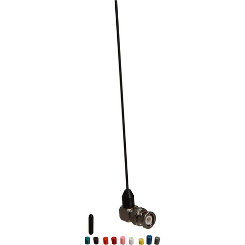 Remote Audio Whip Antenna for Lectrosonics Receivers (Right Angle) (Blocks 21-33)