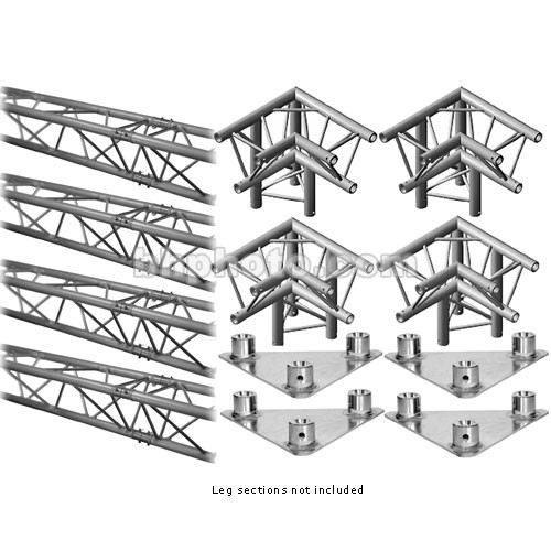 Milos M222 Trio QuickTruss Floor Kit - 10.8 x 10.8'