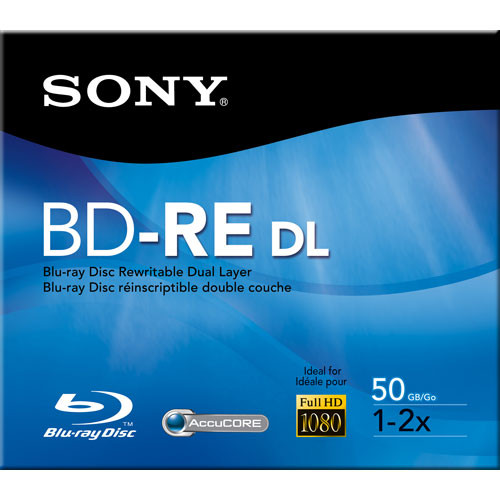 Sony BNE-50RH BD-RE 50GB Blu-ray Recordable Disc
