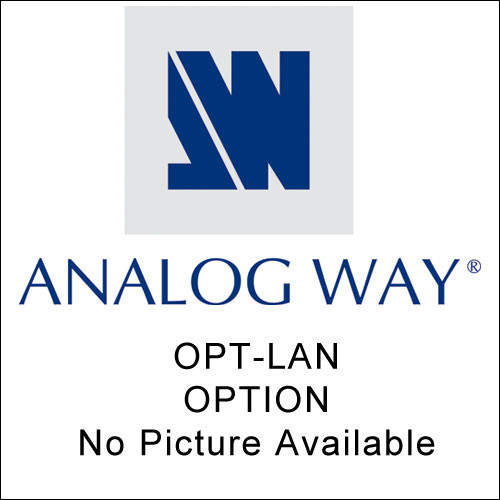Analog Way OPT-LAN Optional TCP/IP Interface - for OCTO Series