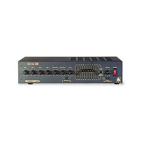 Bogen Communications GS150 Gold Seal Series Public Address Amplifier 150W