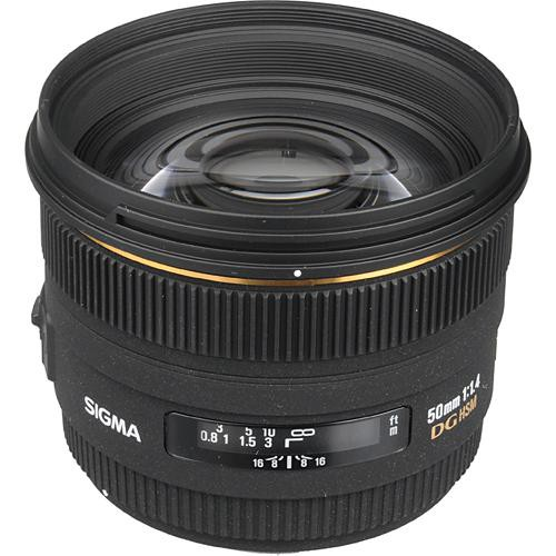 Sigma 50mm f/1.4 EX DG HSM Lens for Canon EF