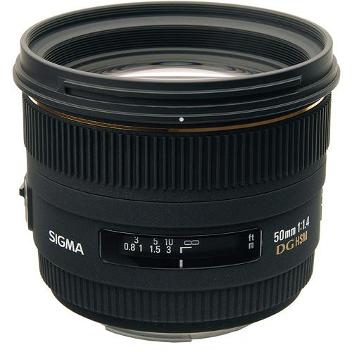 Sigma 50mm f/1.4 EX DG HSM Lens for Pentax K