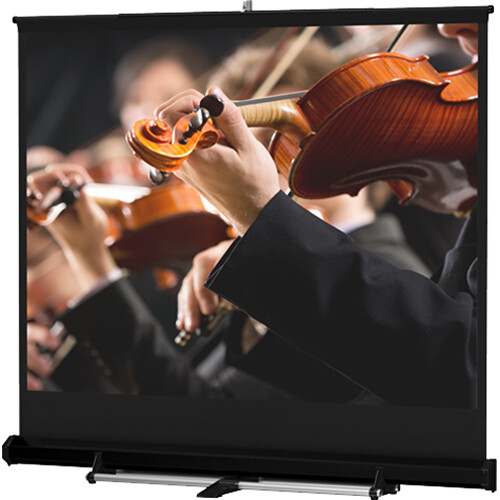 Da-Lite 76181 Floor Model C Manual Front Projection Screen (12x12')