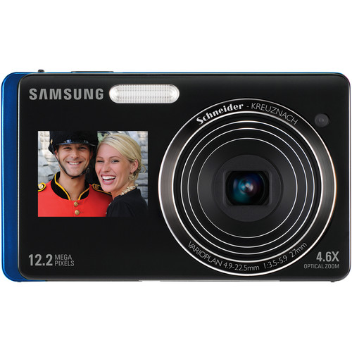 Samsung DualView TL220 Digital Camera (Blue)