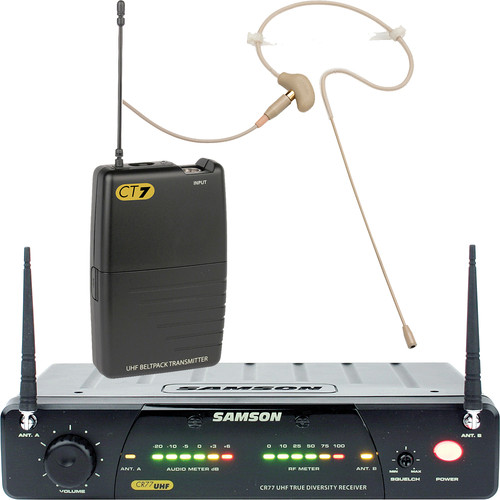 Samson Concert 77 Head Worn Wireless Microphone System (Frequency N1- 642.375 MHz)