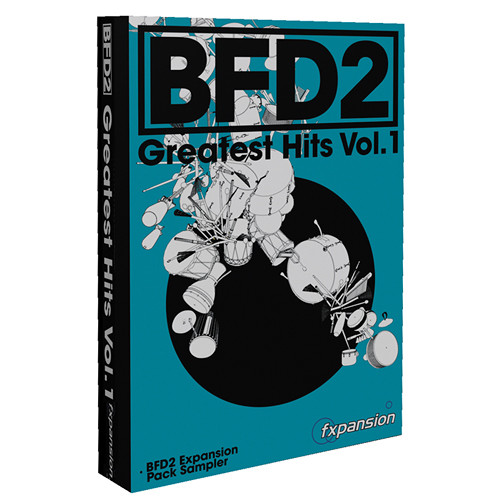 FXpansion BFD Greatest Hits Vol. 1 Expansion Pack