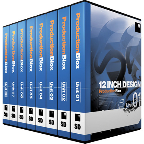 12 Inch Design ProductionBlox SD 8-Pack - DVD