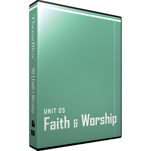 12 Inch Design ThemeBlox Unit 05 SD - Faith and Worship
