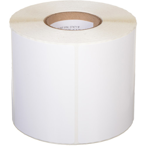 Primera White TuffCoat High-Gloss Labels (4 x 3