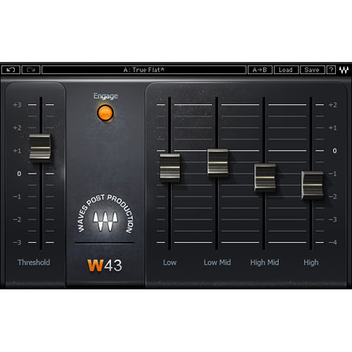 Waves W43 - Noise Reduction Plug-In (TDM)