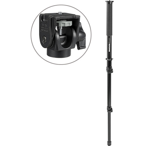 Manfrotto 681B 3 Section Monopod with 234 Swivel/Tilt Head