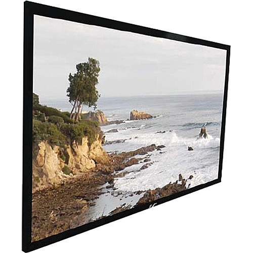 Elite Screens ER106WH1 Sable Fixed Frame Projection Screen (51.9 x 92.2