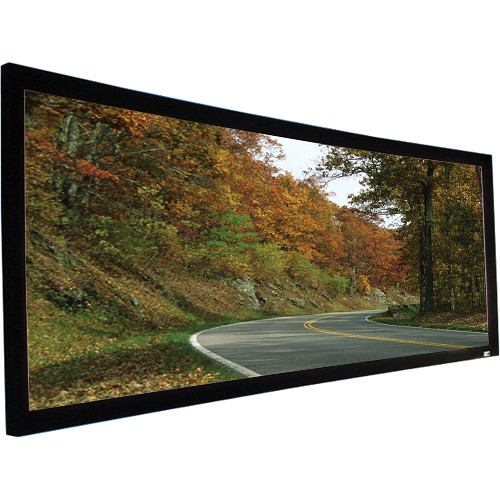 Elite Screens CURVE235-85A1080 Lunette Fixed Frame Projection Screen (33 x 77.6