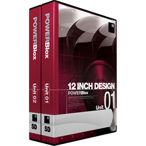 PowerBlox 2-Pack Units 01 and 02 - General Purpose Royalty-Free Animated  and Static Motion Graphics Elements - NTSC - DVD