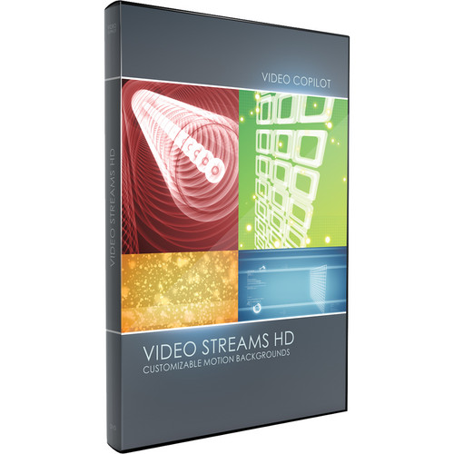 Video Copilot Video Streams HD Customizable Motion Backgrounds