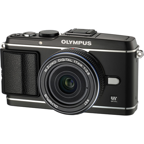 Olympus E-P3 PEN Digital Camera with 17mm Lens (Black)