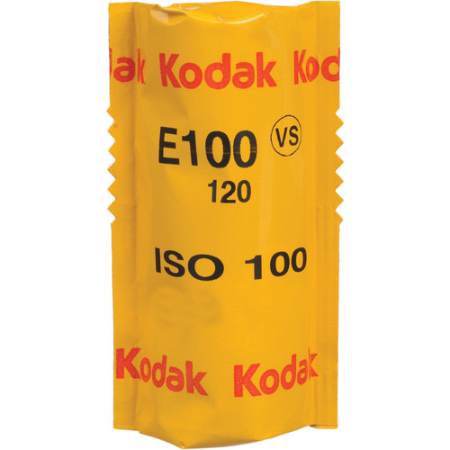Kodak E100VS 120 Ektachrome Professional Color Slide Film (ISO-100)