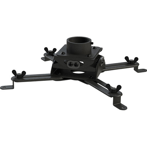 Video Mount Products PM-LPMB Yokeless Low Profile Projector Mount (Black)