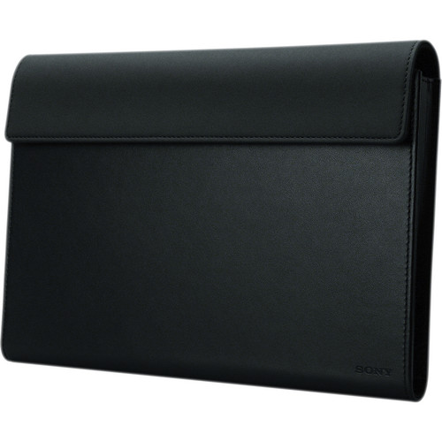 Sony Tablet S Leather Carrying Case (Black)