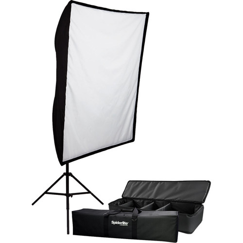 Westcott 900W Spiderlite TD5 Large Shallow Bank Softbox Kit (120V)