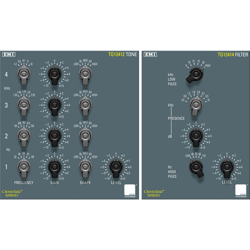 Chandler TG Mastering Pack - Classic EQ and Filter Plug-Ins (TDM)