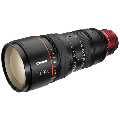 Canon CN-E 30-300mm T2.95-3.7 L SP PL Mount Cinema Zoom Lens