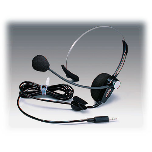 Ikegami MT-669D-01 Intercom Headset with Single Earpiece