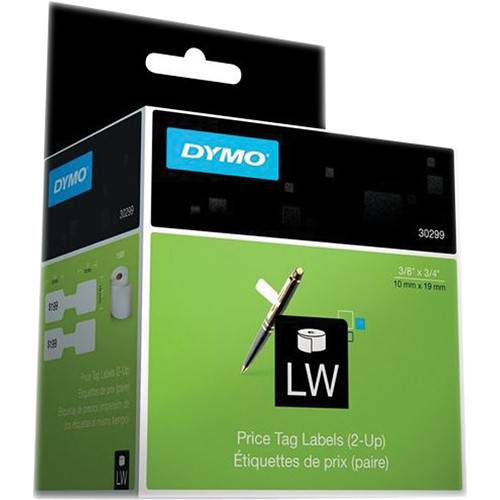 Dymo LabelWriter Jewelry Price Tag (2-up) Labels (3/8 x 3/4