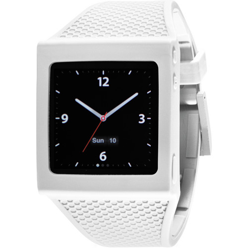 Hex Watch Band for iPod Nano Gen 6 (White)