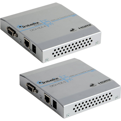 Intelix DIGI-HDE Extender: HDMI / Ethernet / and Control over Twisted Pair