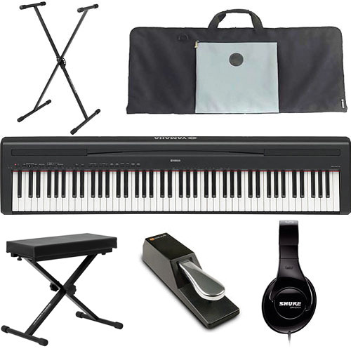 Yamaha P-95 Performance Value Bundle (Black)