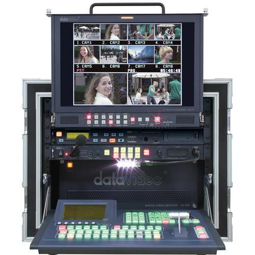 Datavideo MS-900 Mobile Studio with 4 DV and 4 YUV/CV/S Input Cards