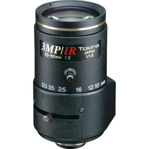 Tokina TVR1020HDDC-IR 3 MP Varifocal Lens (10-50mm)